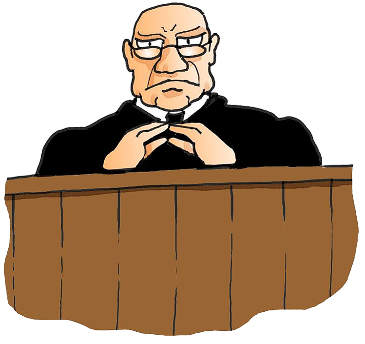Summary Judgment Clip Art